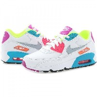 [833376-102] NIKE AIR MAX 90 LTR GS