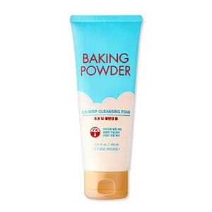 [2016 Upgrade!] ETUDE HOUSE Baking Powder B.B Deep Cleansing Foam 160ml/エチュードハウス ベーキング パウダー B.B...