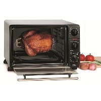 Elite ERO-2008N Toaster Oven Broiler with Rotisserie, 0.8 cu. ft. [並行輸入品]