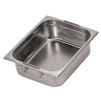 Paderno World Cuisine 251/ 2インチby 207/ 8インチstainless-steelホテルパンwith Retractableハンドル–2/ 1(奥行...