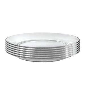 Duralex Lys 9 Inch Clear Soup Plate, Set of 6 [並行輸入品]