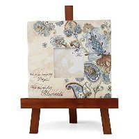 Perfectly Paisley Moments Picture Frame by Pavilion, 10-Inch, We Do Not Remember Days We Remember...