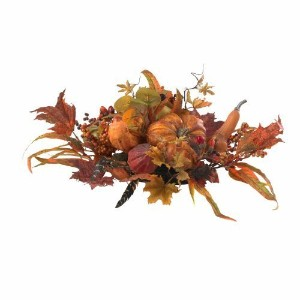 Nearly Natural 4910 Harvest Centerpiece, Orange by Nearly Natural [並行輸入品]