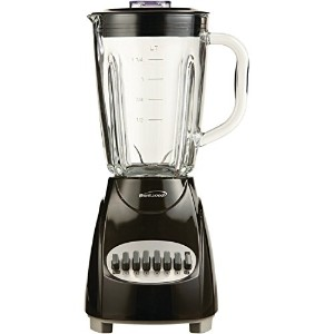 BRENTWOOD JB-920B 12-Speed Countertop Blender with Glass Jar (Black) by BRENTWOOD [並行輸入品]