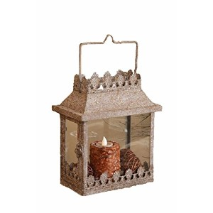 Your Hearts Delight Rectangle Rustic Renaissance Lantern, 8 by 4-3/4 by 9-1/2-Inch [並行輸入品]