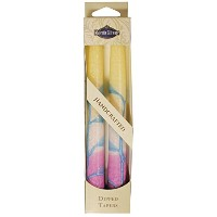 Majestic Giftware SC-HRT10-C Safed Taper Candle, 10-Inch, Harmony Cream, 2-Pack [並行輸入品]