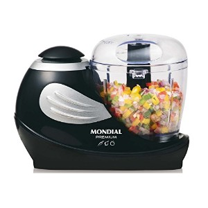 Mondial MP-01.A.US.M.P1 Food Processor, Black/Silver [並行輸入品]