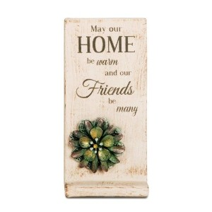 Pavilion Gift Company 19034 Home Terra Cotta Plaque, 3-1/2 by 7-1/2-Inch [並行輸入品]