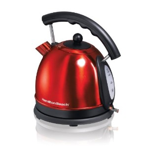 Hamilton Beach 1.7L Stainless Steel Electric Kettle 40894 [並行輸入品]