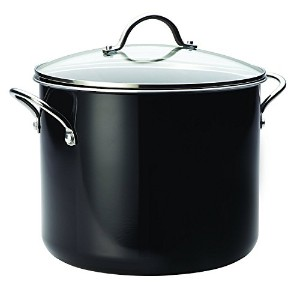 Farberware Aluminum Nonstick Stockpot, 12 quart, Black [並行輸入品]
