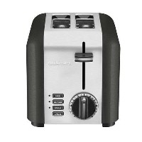 Cuisinart CPT-220TNFR 2 Slice Compact Toaster, Black [並行輸入品]