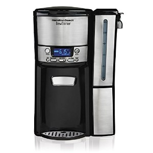 Hamilton Beach 12-Cup Coffee Maker, Programmable BrewStation Dispensing Coffee Machine (47950) ...