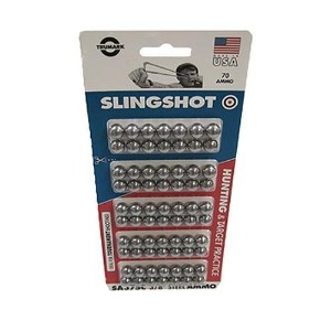 Ammo - Slingshot - 3/8In Steel - 70Ct Cd [並行輸入品]