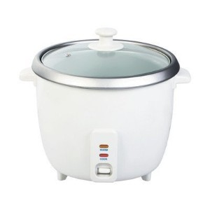 Wee's Beyond 5280-03 Electric Rice Cooker, 3 Cup, White [並行輸入品]