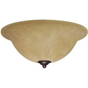 Emerson Ceiling Fan Light Fixtures LK71VS Amber Parchment Light Fixture for Ceiling Fans, Medium...