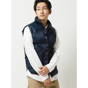 BEAMS MEN ROCKY MOUNTAIN FEATHERBED × BRIEFING × BEAMS / 別注 ダウンベスト ビームス メン【先行予約】*【送料無料】