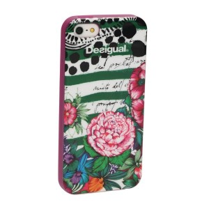 【SALE 30%OFF】デシグアル Desigual COVER_IPHONE5 SILICONA MENTAWA (ROSE RED) レディース