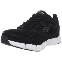 [スケッチャーズ] SKECHERS Stride 51128 BKW (Black Synthetic/ Mesh/ White Mid Sole/25.5)