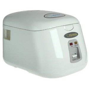 Zojirushi NS-PC10 Electric 5-Cup (Uncooked) Rice Cooker and Warmer, 1.0-Liter by Zojirushi