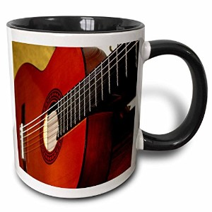 3dローズFlorene音楽 – Closeup Of A Classical Guitar – マグカップ 11 oz ホワイト mug_112274_4