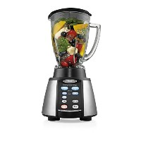 Oster Reverse Crush Counterforms Blender, with 6-Cup Glass Jar, 7-Speed Settings and Brushed...
