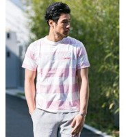Sonny Label MAGIC NUMBER CA裏プリントボーダーTシャツ【アーバンリサーチ/URBAN RESEARCH Tシャツ・カットソー】