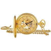 [チャールズヒューバート] Charles-Hubert, Paris ポケットウォッチ 懐中時計 Charles Hubert Gold-Plated Mechanical Pocket...