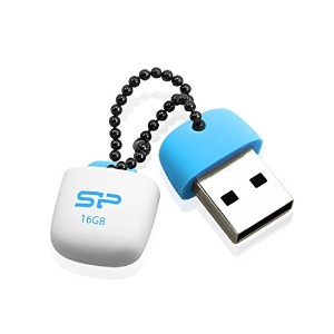 Silicon Power USB2.0フラッシュメモリ16GB Touch T07 ブルー