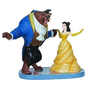 142713 Disney Ltd Ed Belle and Beast Figurine ディズニー 美女と野獣 フィギュア Precious Moments社【並行輸入】