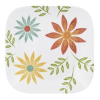Corelle Square Happy Days 8.75 Plate by CORELLE
