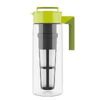 Takeya Flash Chillテつョ Iced Tea Maker (2 Quarts Avocado) by Takeya