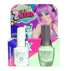 Harmony Gelish & Morgan Taylor - Two of a Kind - Do You Harajuku? - 0.5oz / 15ml Each
