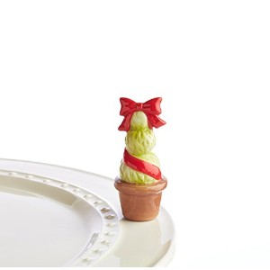 Nora Fleming Garden Of Joy Red Topiary Mini Charm by Nora Fleming