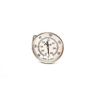 Aura Outdoor Products AOP-TPT-A Non-Digital TPT Tel-Tru Temperature Gauge Thermometer for Big Green...