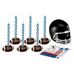 WiltonトッパーSet with Decals Football 3922-9535-010805