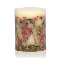 Rosy Rings Red Currant & Cranberry Round Scented Candles, 6.5' [並行輸入品]