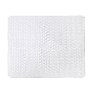 15X12 Kitchen Sink Protector Mat - Large Clear White by Attraction Design