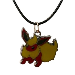 Flareon Pokemon on aシルクコードチョーカーネックレス