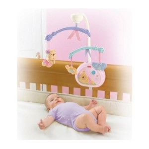 FISHER PRICE LITTLE BUTTONS SLEEPYTIME MUSICAL MOBILE [Baby Product] by Fisher-Price