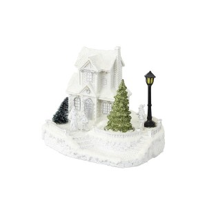 【25%OFF】WHITE VILLAGE LED & MUSIC BOX HOUSE オブジェ n/a ゲーム・おもちゃ > その他