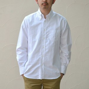 INDIVIDUALIZED SHIRTS(インディビジュアライズドシャツ)/CAMBRIDGE OX B.D.(Standard fit) -WHITE- 【Z】