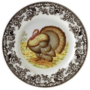 Spode Woodland Turkey Dinner Plate by Spode