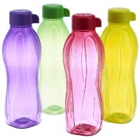 Tupperware Aquasafe Water Bottle Set, 500Ml, Set Of 4 (B.5L) by Tupperware