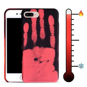 """For iPhone 7 Plus 5.5"""" Soft TPU Case Cover Magical Stylish Color Changing Heat-Sensing Case..."""