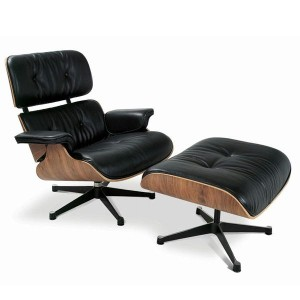 EAMES LOUNGE CHAIR & OTTOMAN 2点セット(ウォールナット)