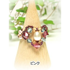[TA001]〜キット〜 Heart berry リング