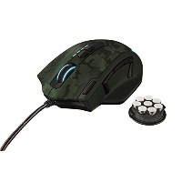 TRUST GXT 155 Gaming Mouse (グリーン)