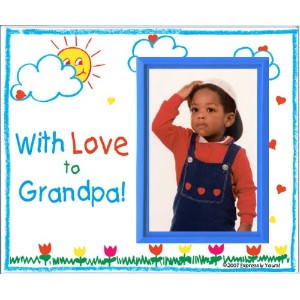 With Love to Grandpa Picture Frame Gift by Expressly Yours! Photo Expressions
