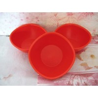 Tupperware LegacyピンチCereal Rice Bowl Set Chili Red