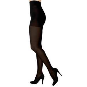 Sigvaris Soft Opaque 842PLLW99 20-30 mmHg Womens Closed Toe Panty, Black, Large-Long by Sigvaris